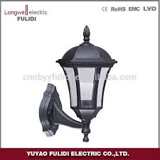 plastic outdoor wall lantern light classical and vintage garden