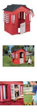 Permanent Playhouses 145995: Backyard Playhouse Cape Cottage ... Outdoors Stunning Little Tikes Playhouse For Chic Kids Playground 25 Unique Tikes Playhouse Ideas On Pinterest Image Result For Plastic Makeover Play Kidsheaveninlisle Barn 1 Our Go Green Come Inside Have Some Fun Cedarworks Playbed With Slide Step Bunk Pack And Post Taged With Playhouses Indoor Outdoor