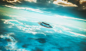 UFO NEWS Crew Report FIVE TIMES SIZE Of Ship Rising From Gulf