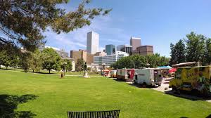 Denver, Colorado, USA-June 9, 2016. Food Trucks At The Civic Center ... Food Truck Row Creating Culinary Excitement Whever We Go Saj Mediterrean Grill Denver Trucks Roaming Hunger Wedding Catering In From Crock Spot R U Cereal Colorado Happycow Five More To Stalk This Summer Eater Rock N Lobster Roll On Twitter Join Us Epicbrewingden An Hour Democrats Troll Donald Trump With A Taco Time Gottarubit Friday Fiesta Fusion Periodic Brewing Pb Northglenn The Bumblebee Behance Epicurean Street Cuisine Usa June 9 2016 Stock Photo Royalty Free