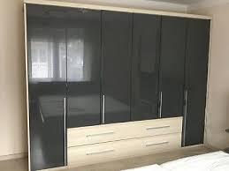 schlafzimmer komplett gebraucht anthrazit eur 750 00