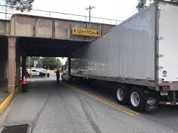 100 Railroad Truck Gets Caught Under Carlisle Railroad Bridge PennLivecom