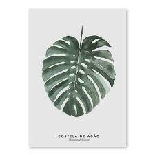 neue anlage green leaf monstera deliciosa kunst dekorative malerei sofa wohnzimmer schlafzimmer wand bild leinwand malerei home decor