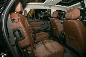 2018 Chevrolet Traverse Interior Rear Seat 298 Carscool