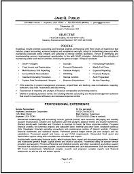 Financial Analyst Resume Pg1