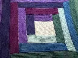 Mason Dixon Log Cabin Baby Blanket Fini
