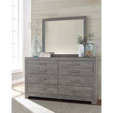 Z Gallerie Gunnar Dresser by Signature Design By Ashley Culverbach Grey Dresser With Mirror