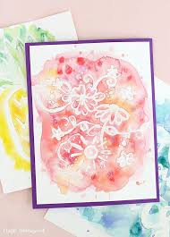 Watercolor Art Resist DIY Consumer Crafts Unleashed 3