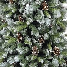 Pre Lit White Flocked Christmas Tree by Decoration Ideas Killer Image Of Accessories For Christmas