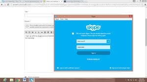 skype bureau windows 8 skype error we can t open skype you are already signed