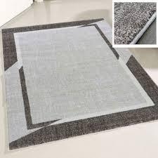 teppich beige mit modernem designer bordüre my7430 200x290