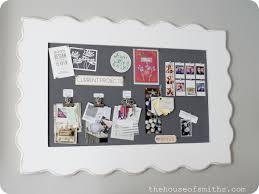 diy framed fabric pin board a s office makeover ideas