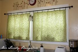 Target Curtain Rod Rings by Kitchen Curtains