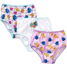 Finding Nemo Baby Clothes And by Disney Finding Nemo Dory Toddler Girls Underwear 3 Pack Walmart Com