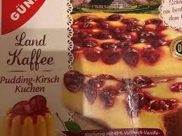 gut günstig pudding kirsch kuchen kalorien pudding fddb