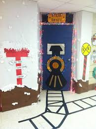 door hope we win our contest welcome to the polar express all