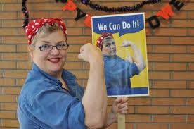 Rosie The Riveter Halloween Diy by Rosie The Riveter Dianne Faw