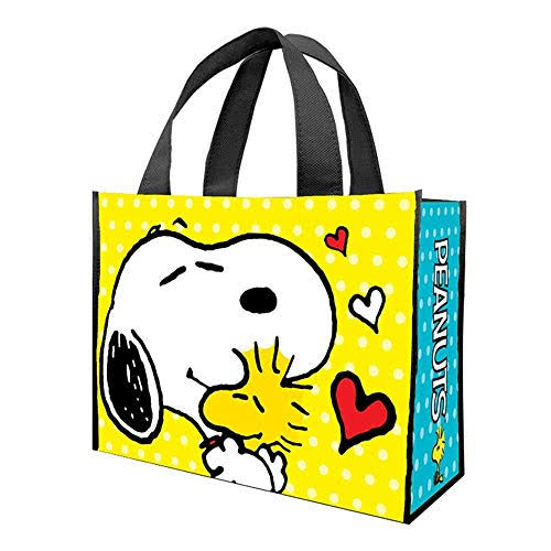Vandor Recycled Shopper Tote - Peanuts, Large