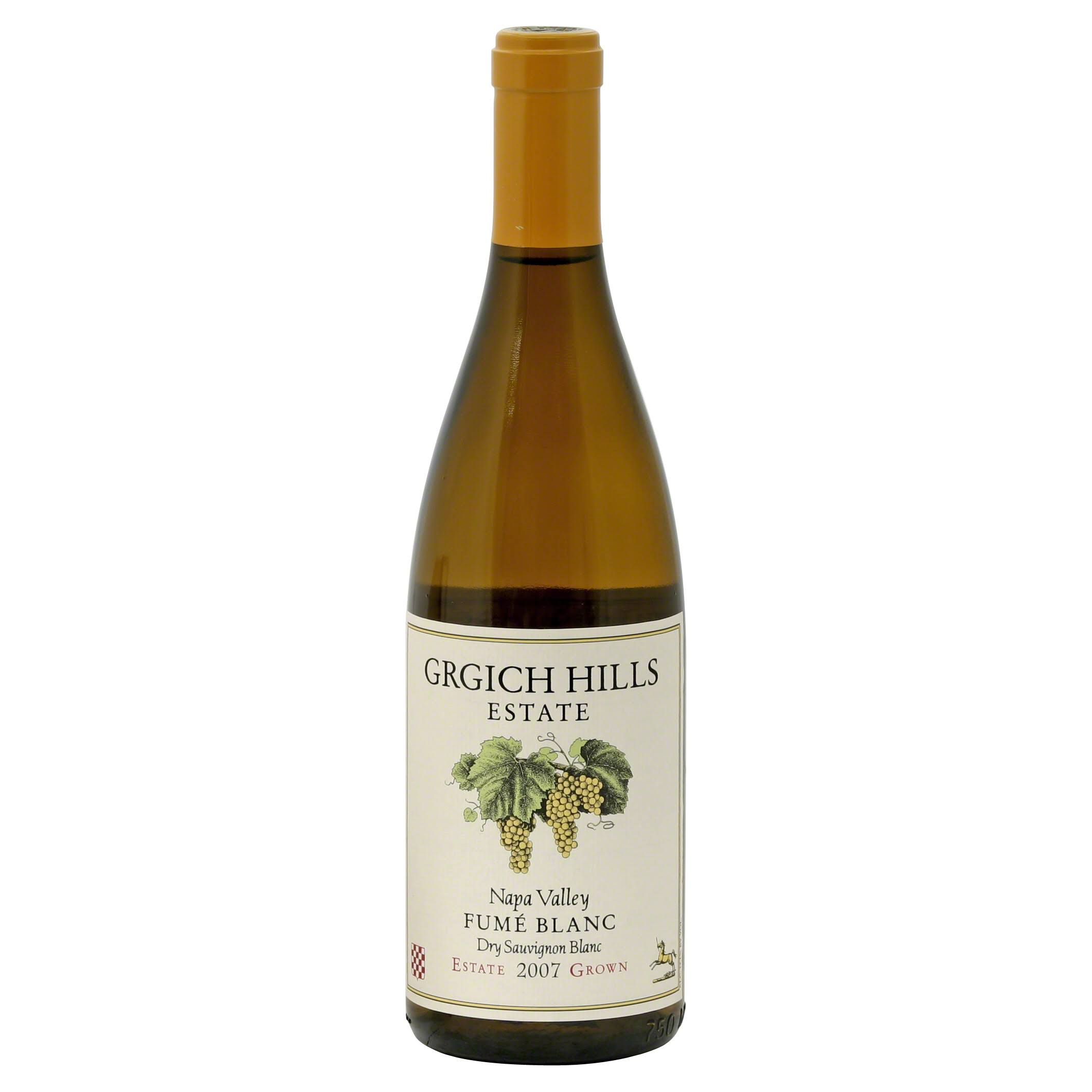Grgich Hills Estate Fume Blanc Wine - Napa Valley, USA