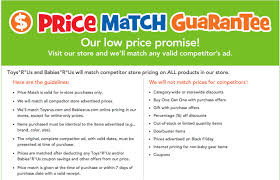Toys R Us Launches 'Price Match & Adjustment Guarantee' For ... Toys R Us Coupons Codes 2018 Tmz Tour Coupon Toysruscom Home The Official Toysrus Site In Saudi Online Flyer Drink Pass Royal Caribbean R Us Coupons 5 Off 25 And More At Blue Man Group Discount Code Policy Sales For Nov 2019 70 Off 20 Gwp Stores That Carry Mac Cosmetics Toysrus Store Pier One Imports Hours Today Cheap Ass Gamer On Twitter Price Glitch 49 Off Sitewide Malaysia Facebook Issuing Promo To Affected Amiibo Discount Fisher Price Toys All Laundry