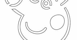 Peppa Pig Pumpkin Carving Ideas by Printable Peppa Pig Pumpkin Carving Patterns Patterns Kid
