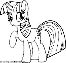 Princess Twilight Coloring Pages Printable New Nice My Little Pony Sparkle Alicorn Ornament