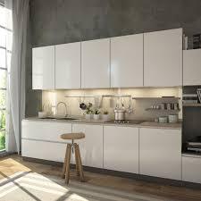 nischenwand glas für die küche hell beige elfenbein ref 1015 6mm