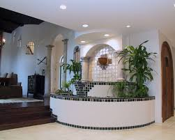 Indoor Fountains Design Ideas For Interior Decor Your Home Interesting Ceiling Lighting And Columns Plus