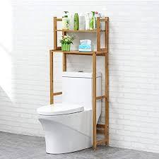 holz wc lagerregal über dem toilettenregal raumwunder