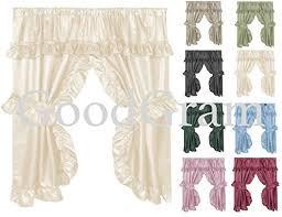 Amazon Lace Kitchen Curtains by Black Kitchen Curtains Amazon Com