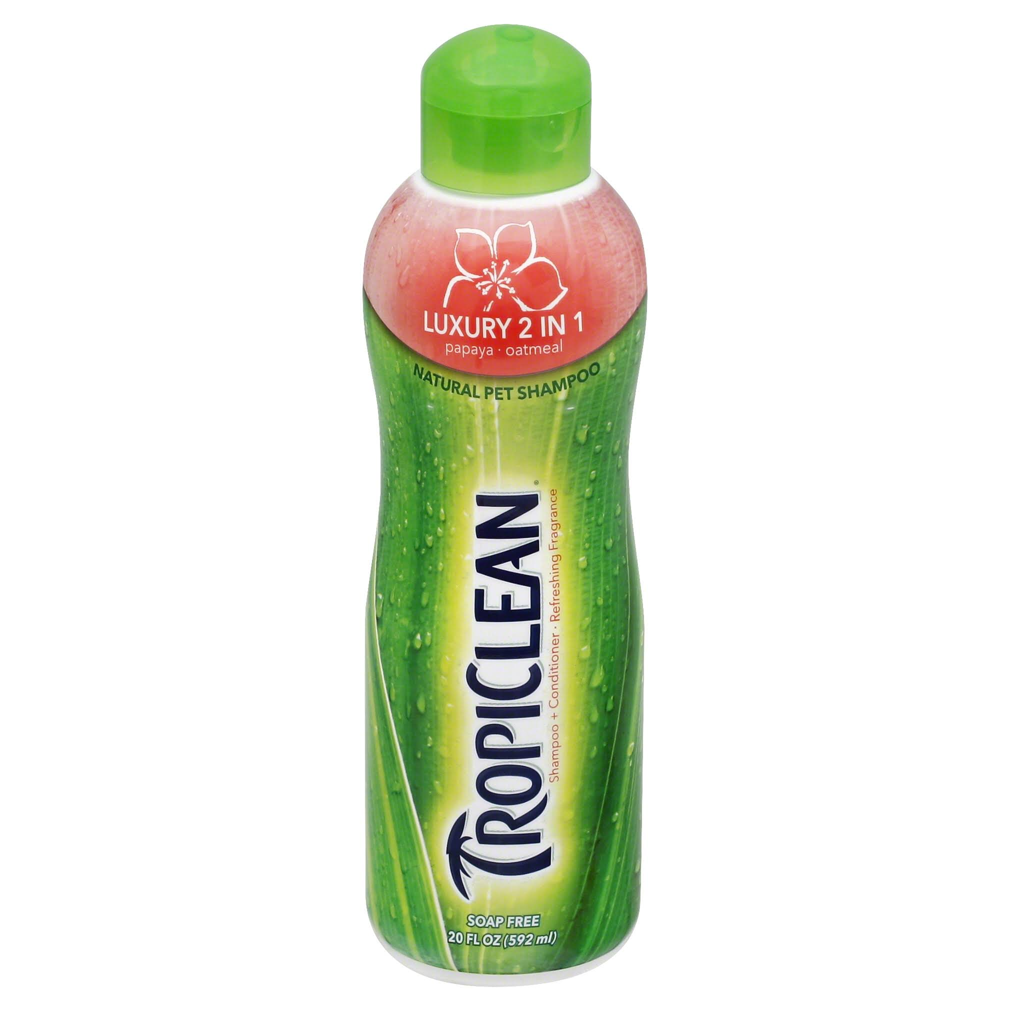 Tropiclean Pet Shampoo - Papaya