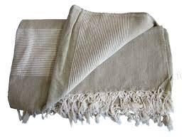plaids canapé grande tenture kérala plaid couvre lit beige provence arômes