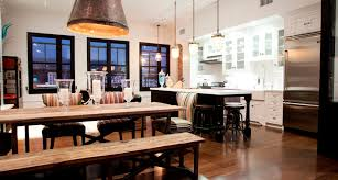 Chic Industrial Dining Room Designs
