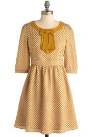 the gold and the new dress casual vintage inspired mid length