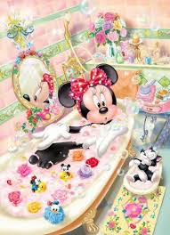 Mickey And Minnie Bath Decor by Minnie Mouse May Just Have To Change The Bathroom Décor For