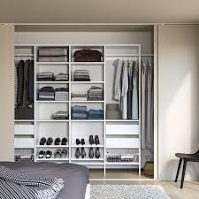 aurdal wardrobe combination white 302 0 337 5x40x221 cm