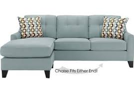 Cindy Crawford Microfiber Sectional Sofa by Cindy Crawford Home Furniture Collection