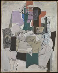 Picasso Still Life With Chair Caning Analysis by Bowl Of Fruit Violin And Bottle U0027 Pablo Picasso 1914 Tate