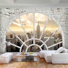 new york fototapete tunnel 3d effekt tapete schlafzimmer