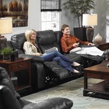 Catnapper Reclining Sofa Set by Comfortable And Stylish Faux Leather Reclining Sofa By Catnapper