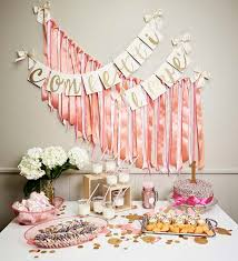 Pink White And Gold Birthday Decorations by 106 Best Party Images On Pinterest Birthday Parties Gold