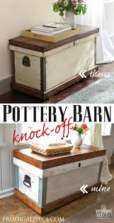 Pottery Barn Trunk Knock-Off {Themed Makeover} - Prodigal Pieces Fniture Trunk End Tables Wicker Pottery Barn Coffee Vintage Table Cart 11090p Thippo Introducing Kaplan Youtube Living Room Medium With Brown For 1000 Ideas About Tray Pavillion Home Designs Rustic I Just Want My House To Look Like The Pink Tumbleweed Splendid Tanner Round Loon