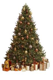 Copper Christmas Tree Decoration 01