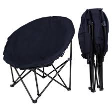 Buy New Large Folding Moon Chair Saucer Padded Comfort ... Top 5 Best Moon Chairs To Buy In 20 Primates2016 The Camping For 2019 Digital Trends Mac At Home Rmolmf102 Oversized Folding Chair Portable Oversize Big Chairtable With Carry Bag Blue Padded Club Kingcamp Camp Quad Outdoors 10 Of To Fit Your Louing Style Aw2k Amazoncom Mutang Outdoor Heavy 7 Of Ozark Trail 500 Lb Xxl Comfort Mesh Ptradestorecom Fundango Arm Lumbar Back Support Steel Frame Duty 350lbs Cup Holder And Beach Black New