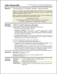Sample Career Objective Resume Entry Level Examples In For Hotel And Restaurant Management