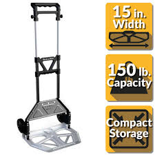 OLYMPIA Pack-N-Roll 150 Lb. Heavy Duty Folding Hand Truck With Load ... Best Hand Truck For Home Depot Youtube Cosco Shifter 300 Lb 2in1 Convertible And Cart Creative Plant Dolly Black To Floor Magliner 8 In X 2 Wheel Balloon Cushion Rubber With Wesco Spartan 3 Position Handtruck Walmartcom Yard Carts Wheelbarrows The Garden Utility Tires Outdoor Decoration 49 Beautiful Electric Stair Climbing Beautiful Hand Truck Home Depot On Junior Convertible Arstic Shop Trucks Dollies At Lowes Com Four Wheeled