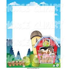 Clip Art Of A Border Of Farm Animals In A Barn By Visekart - #883 Cartoon Red Barn Clipart Clip Art Library 1100735 Illustration By Visekart For Kids Panda Free Images Lamb Clipart Explore Pictures Stock Photo Of And Mailbox In The Snow Vector Horse Barn And Silo 33 Stock Vector Art 660594624 Istock Farm House Black White A Gray Calf Pasture Hit Duck