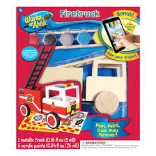 100 Model Fire Truck Kits MASTERPIECES Works Of Ahhh Wood Painting Kit