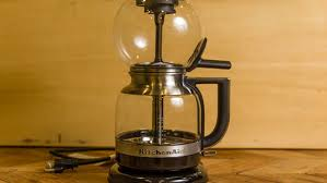 KitchenAid Siphon Brewer ReviewSeductively Strong Rich Coffee But Not For Everyone