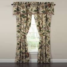 Swag Curtains For Living Room by Curtains Waverly Drapes Living Room Valances Waverly Window